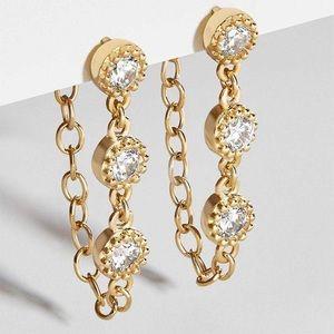 🛍2/25 Ear piercings earrings - drop style